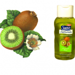 Suave kiwi fruit botanical illustration for Suave packaging