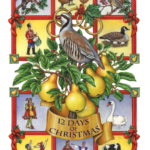 Twelve days of Christmas with a partridge in a pear tree