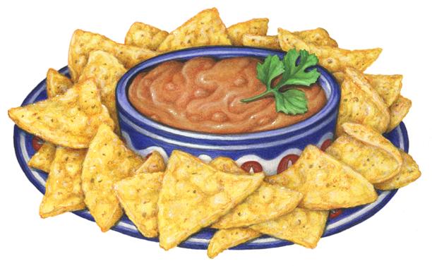Miscellaneous Food Stock Art - Douglas Schneider Illustration