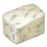 Feta cheese cube piece