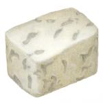 Feta cheese cube piece