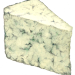 Blue cheese triangle wedge