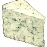 Blue cheese triangle wedge