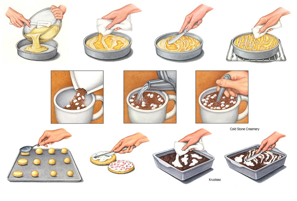 Food Illustrations Portfolio Douglas Schneider Illustration