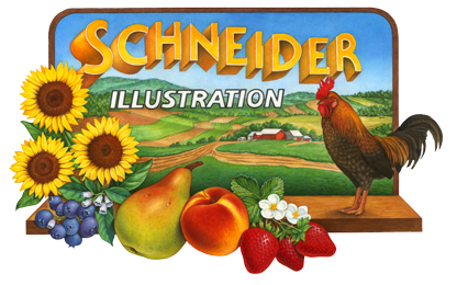 Douglas Schneider Illustration Logo