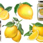 Illustrations of lemons.