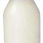 Glass bottle pint of milk